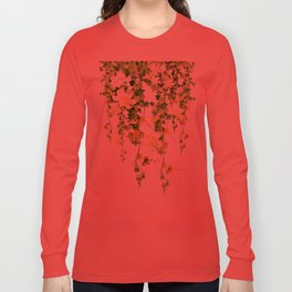 Watercolor Ivy Long Sleeve T-shirt