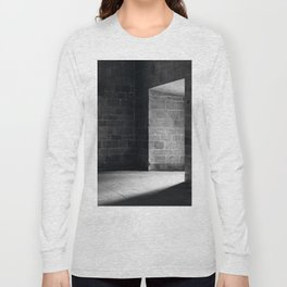Scary view of hollow Long Sleeve T-shirt