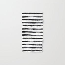 Grungy stripes Hand & Bath Towel