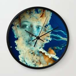 Jellyface II Wall Clock
