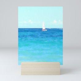 Summer Sailboating | Nadia Bonello Mini Art Print