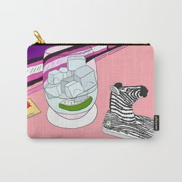 Zebra Phone in Tokyo Roppongi Carry-All Pouch