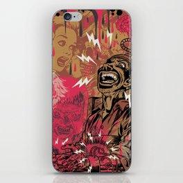 SHOCKING TERRORS iPhone Skin