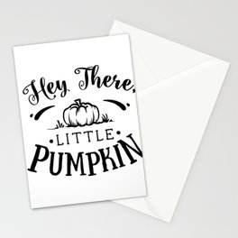 Hey there Little Pumpkin Thanksgiving Stationery Cards