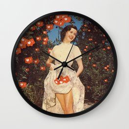The Orchard Of Me - Insta likes Wall Clock
