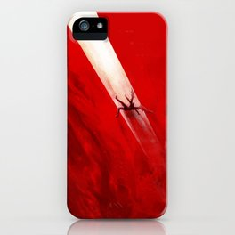 Fall of Lucifer iPhone Case