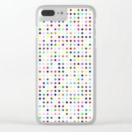 Hirst Polka Dot Clear iPhone Case