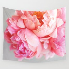 Peonies Forever Wall Tapestry