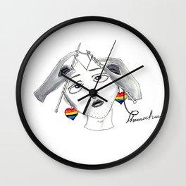 I want to weave myself Wall Clock