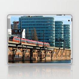 RED TRAIN - BERLIN Laptop & iPad Skin