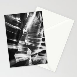 Waves of sandstone at Antelope Canyon Stationery Cards