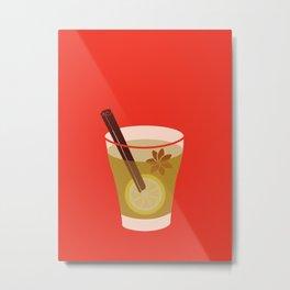 Mulled Cider Art Print Metal Print