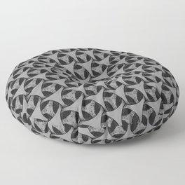 Organic triangulier Shakes pattern drawn  Floor Pillow