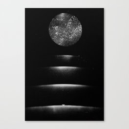 Staircase to the Moon Canvas Print