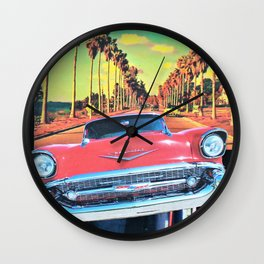 Auto Icon Wall Clock