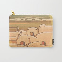 Beached Labyrinth Carry-All Pouch