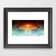 An All Consuming Fire Framed Art Print