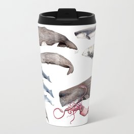 Deep sea whales Travel Mug