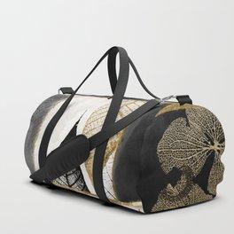 Fallen Gold Patchwork Duffle Bag