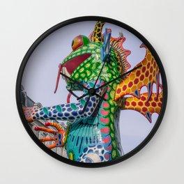 Monster frog Wall Clock