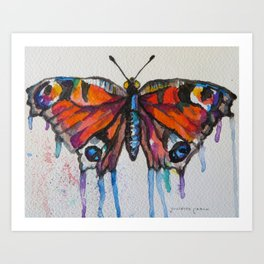 Butterfly (Transformation)  Art Print
