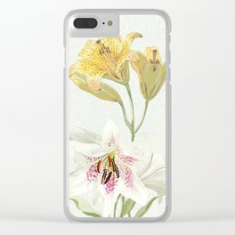 Lily meets Lilia Clear iPhone Case