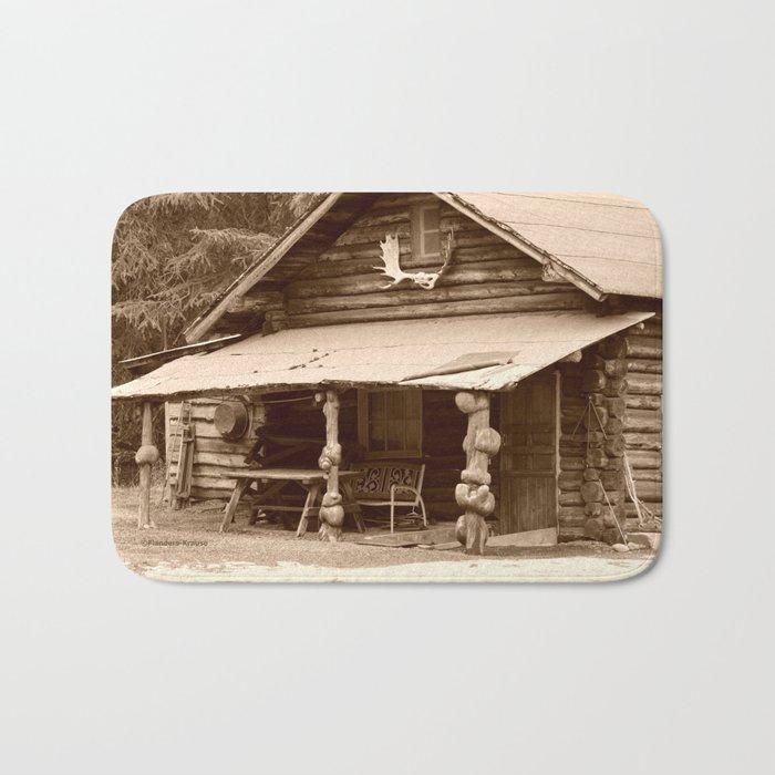 Old Log Cabin Bath Mat