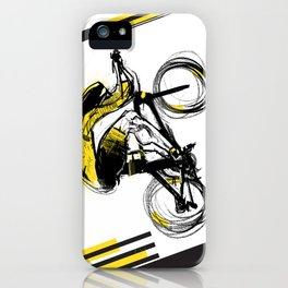 The Time Trial iPhone Case
