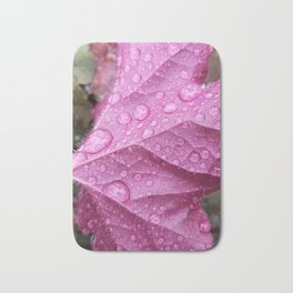 On a cold rainy day Bath Mat