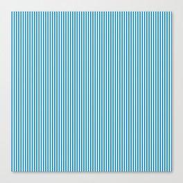 Blue Pinstripes Canvas Print
