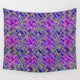 Polyp Blue - Coral Reef Series 017 Wall Tapestry