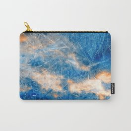 Burning Ice Clouds Carry-All Pouch