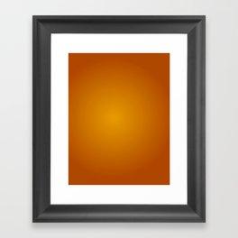 Approaching Sunset Framed Art Print