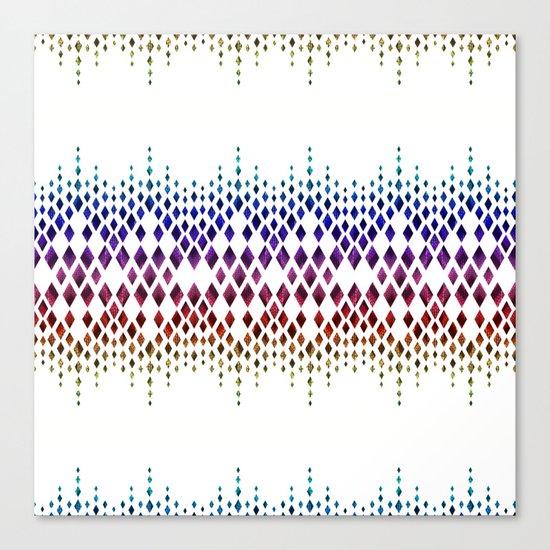 Colorful geometric pattern. Canvas Print