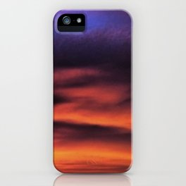 Sunset in the Maldives iPhone Case