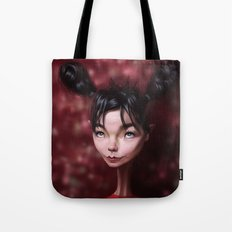Caricature for a Bjork Tote Bag