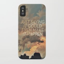 cloudbusting iPhone Case