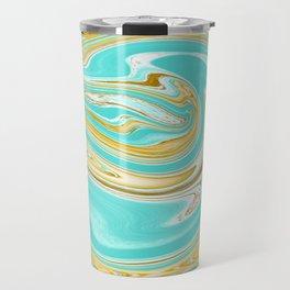Abstract Fluid 3 Travel Mug