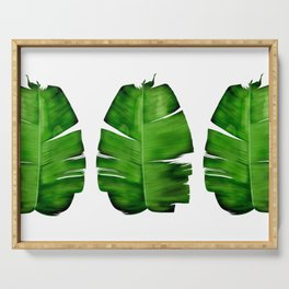 Banana Leaf Painting Serving Tray