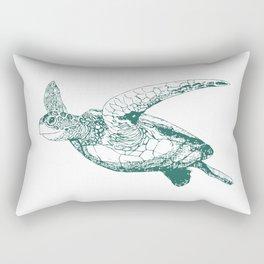 Kemp's Ridley Sea Turtle Rectangular Pillow
