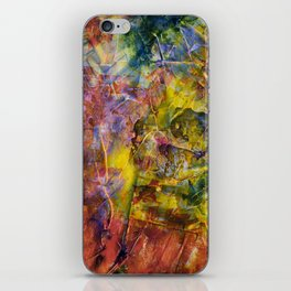 arbitrary composition #9 iPhone Skin