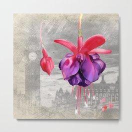 Macro Flower #7 Metal Print