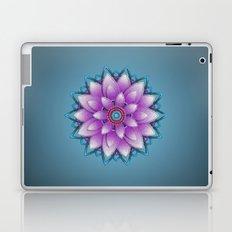 Embroidered look, purple Laptop & iPad Skin