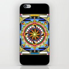 Mandala17 iPhone & iPod Skin