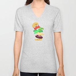 Extreme Burger Making Unisex V-Neck