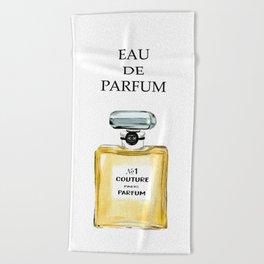 Yellow Parfum Beach Towel