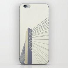 cable-stayed bridge iPhone & iPod Skin