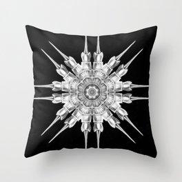 Ninja Star 6 Throw Pillow