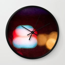Abstract Light And Color Field Wall Clock