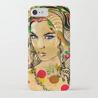 dots iPhone & iPod Cases featuring Dots by Irmak Akcadogan